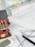 Wohnstruktur Lizenzfreies Stockbild