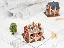 Wohnstruktur Lizenzfreie Stockbilder
