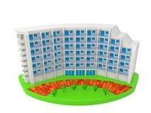 Wohnung Stockfoto