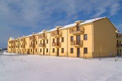 Wohnung im Winter Stockbilder