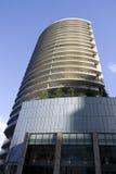 Wohnung mit großen Balkonen lizenzfreie stockfotos