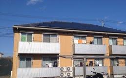 Wohnung sauberer Energie Japans Lizenzfreies Stockfoto