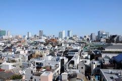 Wohnung und Bürogebäude in Tokyo Japan Lizenzfreies Stockfoto