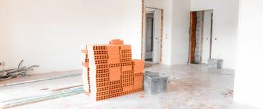 Wohnung unter Erneuerung lizenzfreie stockfotografie