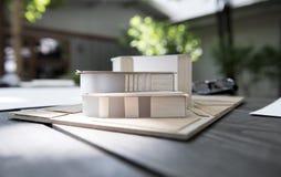 Wohnung vorbildliches Architecture Design Stockbilder