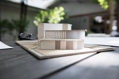 Wohnung vorbildliches Architecture Design Concept Lizenzfreie Stockfotografie