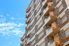 Wohnungen stockfotografie