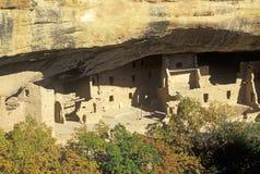 Wohnungen bei Mesa Verde National Park, Colorado Lizenzfreie Stockfotografie