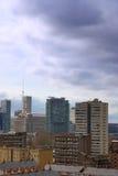 Wohnungen in der Pappel London Stockfotos