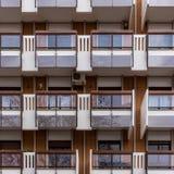 Wohnungen in der Stadt lizenzfreie stockfotos