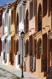 Wohnungen in Evora - Portugal stockfotografie