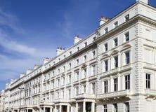 Wohnungen in Knightsbridge und in Chelsea Stockfotografie