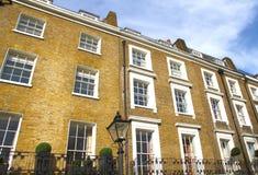 Wohnungen in Knightsbridge und in Chelsea Stockbilder