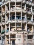 Wohnungen in Phnom Penh 1 Stockfotografie
