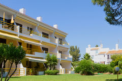 Wohnungen und Landhäuser Stockfotos