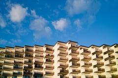Wohnungen zunächst das Meer Lizenzfreie Stockfotografie