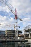 Wohnungs-Aufbau Lizenzfreie Stockfotos