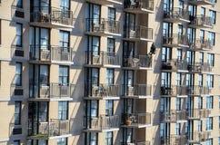 Wohnungs-Balkon stockbild