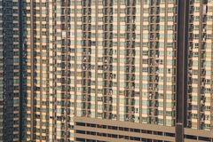 Wohnungs-Eigentumswohnungs-Gebäude-Detail, Eigentumswohnungs-Turm Lizenzfreies Stockfoto