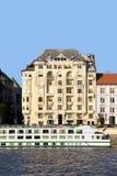 Wohnungs-Haus in Budapest lizenzfreie stockfotografie