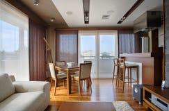 Wohnungs-Innenraum Lizenzfreies Stockfoto