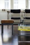 Wohnungs-Wohnzimmer-Detail Stockfotografie