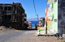 Wohnungsbau auf der Insel Stockfotos