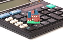 Wohnungsbaudarlehen lizenzfreies stockbild