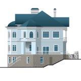 Wohnungshaus stock abbildung