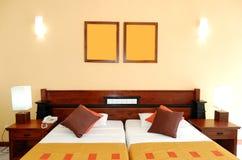 Wohnungsinnenraum im populären Hotel Lizenzfreie Stockfotografie