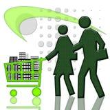 Wohnungsmarkt Lizenzfreies Stockfoto