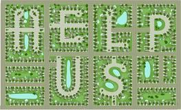 Wohnungsmarkt lizenzfreie stockfotografie