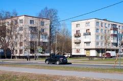 Wohnviertel des St Petersburg, Russland Stockfotos