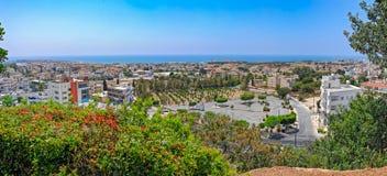 Wohnviertel von Paphos, Zypern stockbilder