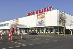 WOHNWELT商标 图库摄影