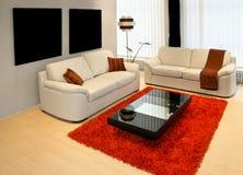 Wohnzimmer 1 Lizenzfreie Stockfotos