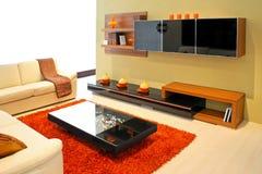 Wohnzimmer 4 Stockbild