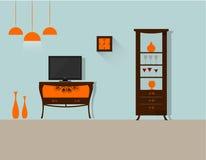 Wohnzimmer 12 lizenzfreie abbildung