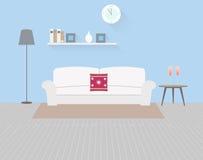Wohnzimmer 2 lizenzfreie abbildung