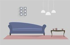 Wohnzimmer 10 lizenzfreie abbildung