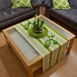 Wohnzimmer-Dekoration Stockfoto