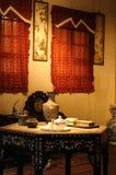 Wohnzimmer der chinesischen Art Stockfotografie