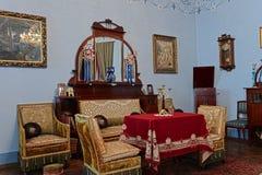 Wohnzimmer des 19. Jahrhunderts Lizenzfreies Stockfoto