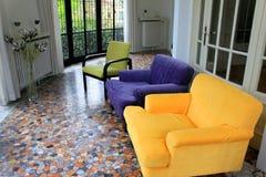 Wohnzimmer für Entspannung Lizenzfreies Stockbild