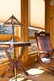 Wohnzimmer-/Fenster-Vorhänge Lizenzfreie Stockfotos