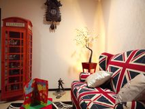 Wohnzimmer-Hauptdekor Lizenzfreies Stockfoto