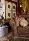 Wohnzimmer-Innenarchitektur-Dekoration Stockfoto