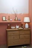 Wohnzimmer konzipiert in der Retro- Art Lizenzfreie Stockfotografie