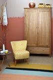 Wohnzimmer konzipiert in der Retro- Art Lizenzfreies Stockbild
