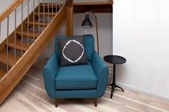 Wohnzimmer konzipiert in der Retro- Art Lizenzfreies Stockfoto